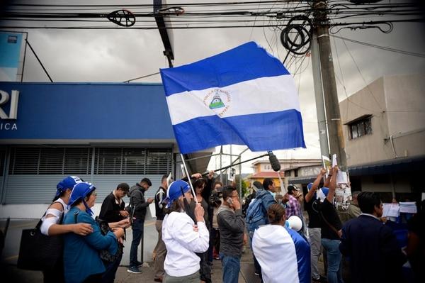 Previo al inicio de la crisis que vive el país vecino del norte, las autoridades costarricenses de Migración solo habían recibido 793 solicitudes de refugio por parte de nicaragüenses en 17 años. Menos de 47 por año. (Foto de Diana Méndez).