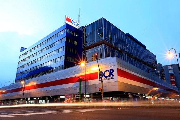 03/11/2017 San José. Fachada del Edificio del Banco de Costa Rica (BCR) en Avenida Segunda. Foto: Rafael Pacheco. (Imagen con fines ilustrativos).