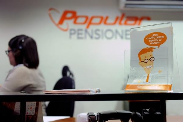 12/05/2017. San José. Oficinas de la operadora de pensiones del Banco Popular. Popular Pensiones. Fotos Melissa Fernández Silva