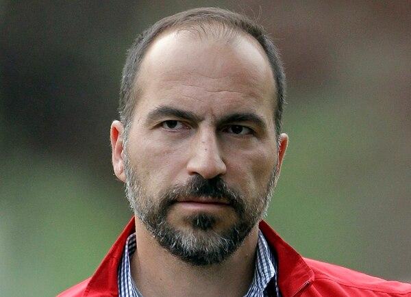 Dara Khosrowshahi sustituyó al cofundador de Uber, Travis Kalanick, quien fue forzado a renunciar en junio, en medio de una ola de escándalos.