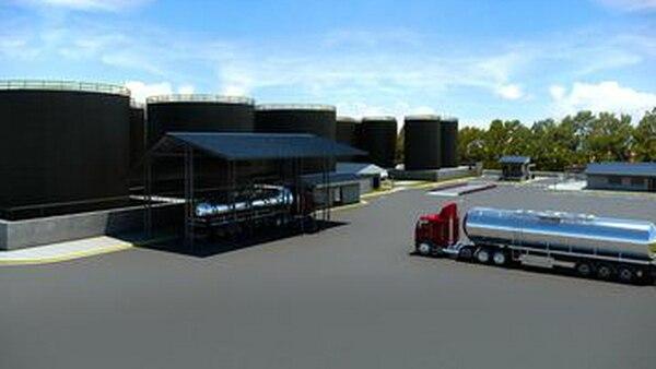 Las instalaciones su ubican en un terreno de 20.000 metros cuadrados, contiguo a la antigua Químicos Holanda