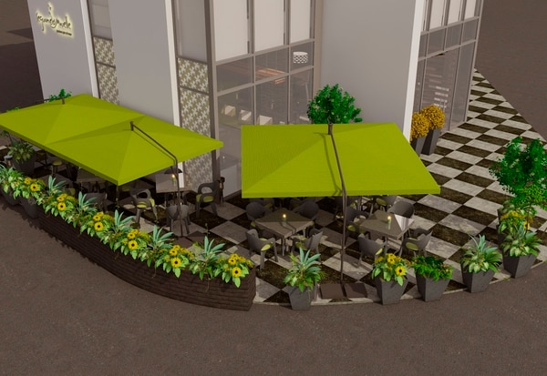 Este es el nuevo local ubicado en la parte baja del Hotel Hilton Garden, ubicado en La Sabana frente al Estadio Nacional.