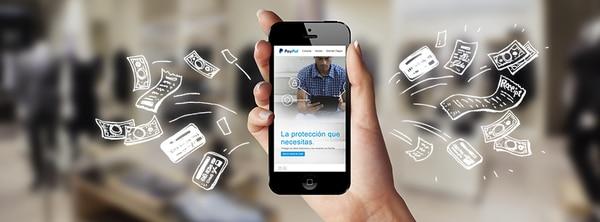 El servicio se puede utilizar desde el móvil. (Imagen cortesía PayPal)