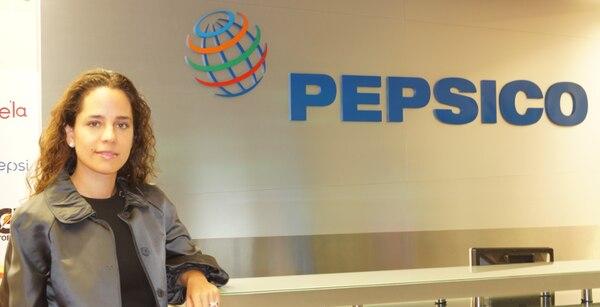 Mónica Bauer explicó que la meta de la alianza entre PepsiCo y ecolones, o ecoins, es activar 300.000 cuentas en 2019. (Foto: PepsiCo para EF).