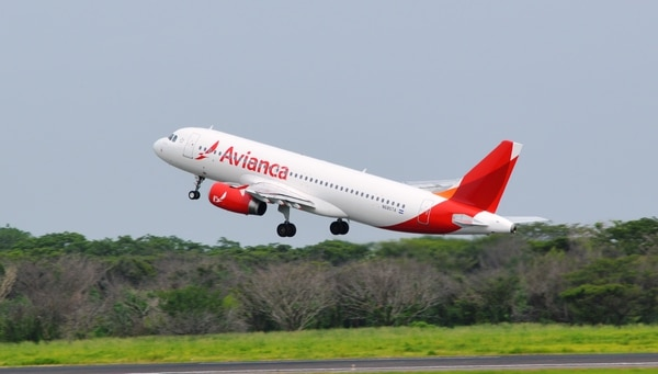 Avianca ya ofrece vuelos directos a San Salvador, Tegucigalpa, Managua, Panamá, Bogotá y Lima. Ahora sumará otros a Ciudad de México y San Pedro Sula.