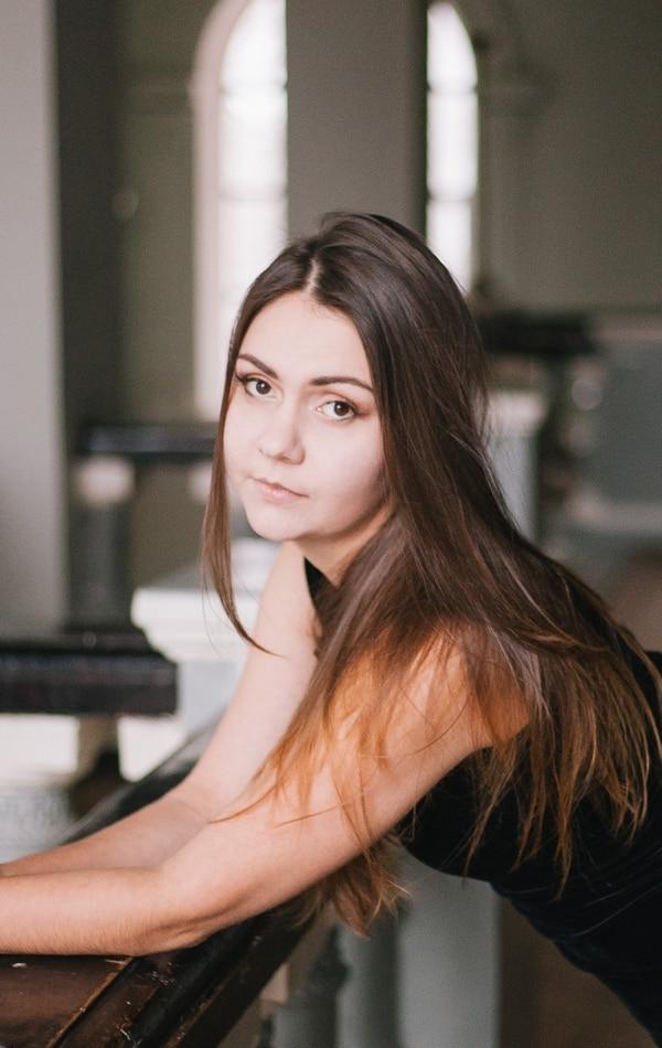 Marina Pavliuchkov Pavliuchkova. Estudió en el Colegio Musical Superior de la ciudad de Voronezh, Rusia. Realizó sus estudios como pianista- concertista, artista de música de cámara, pianista acompañante y profesora de piano. Foto: Ligia Olvera.