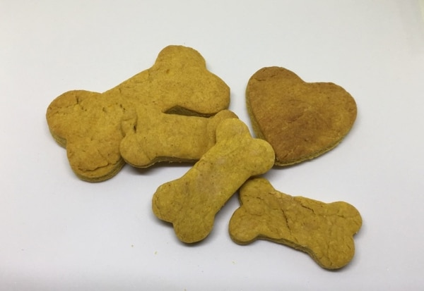 Las galletas son parte de la oferta. Foto: Guau Bakery para EF.