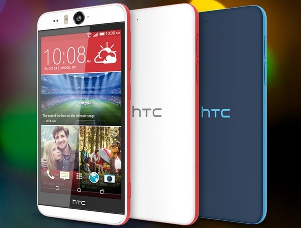 El HTC Desire Eye es muy ligero (154 gramos), y cuenta con dos cámaras de 13 megapixeles, una pantalla de 5,2 pulgadas, plataforma Android y un procesador de 2,3 GHz.