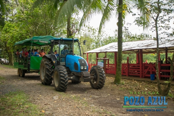 Hacienda Pozo Azul, en Sarapiquí, le ofrece a sus visitantes un