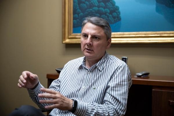 En entrevista con EF, Javier Chávez, presidente ejecutivo de Aldesa, había explicado la situación financiera del grupo. Fotografía: Alejandro Gamboa Madrigal