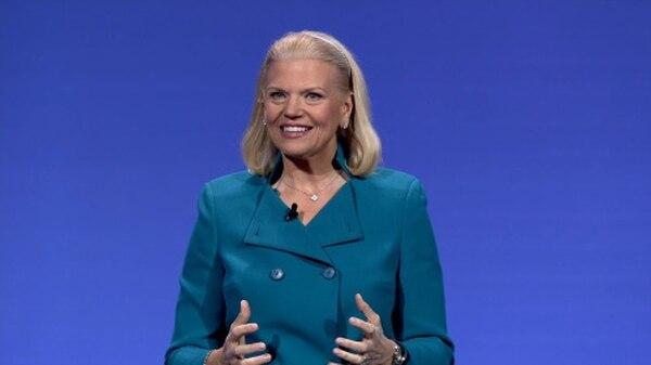 Ginni Rometty, presidenta y CEO de IBM, dijo en Las Vegas que el servicio en la nube de computación cognitiva es el corazón de la transformación tecnológica de las empresas.