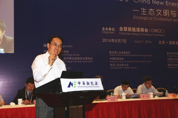 La fortuna de Li Hejun, fundador y presidente de la empresa Hanergy, con sede en Pekín, se ha triplicado prácticamente en un año.