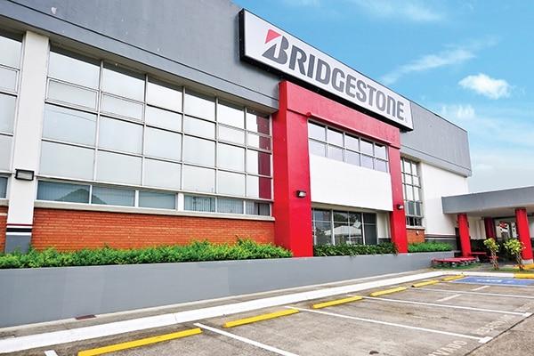La planta de producción de Bridgestone se ubica en Belén de Heredia. Bridgestone para EF.
