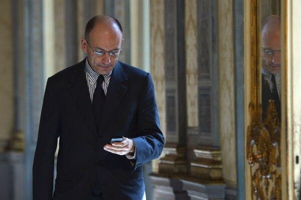 El primer ministro italiano, Enrico Letta, dijo que su prioridad será fomentar el crecimiento económico