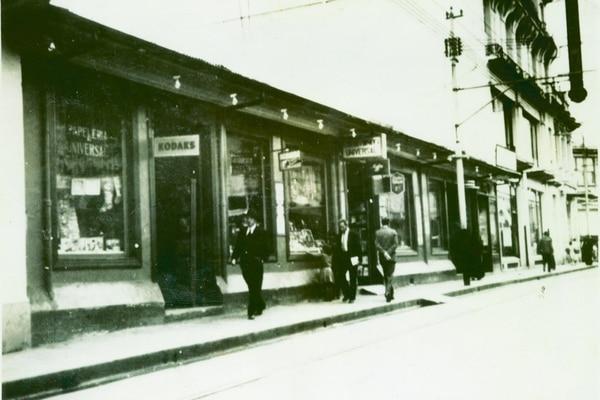La tienda de Avenida Central recién inaugurada en el año 1926. / Universal para EF.