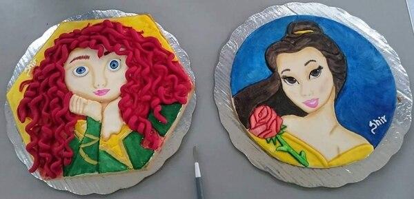 Shirley aprendió a hacer estas galletas luego de llevar un curso con la pastelera mexicana Liliana Sarahy. Foto: Shir's cups & cakes para EF.