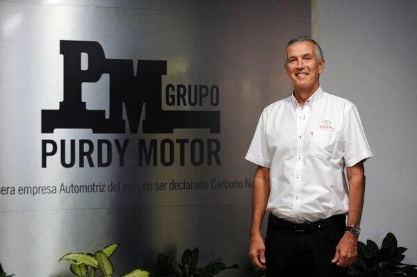 05/09/2018. Torre Lexus, Avenida Escazú. Entrevista con Javier Quirós, CEO de Purdy Motor, sobre el reporte de sostenibilidad en la empresa. Fotos Melissa Fernández