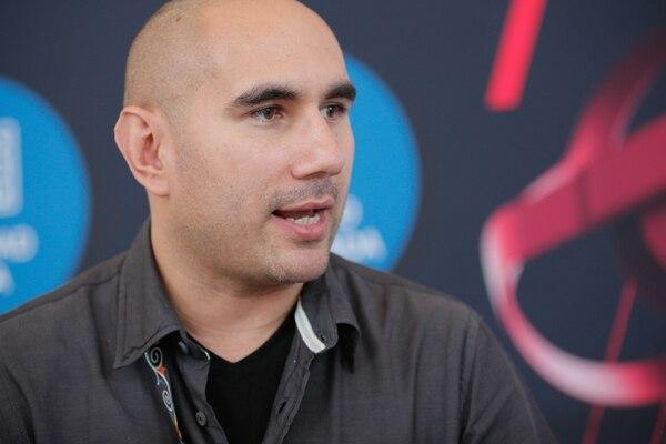 """""""Estamos fortaleciendo la oferta de aplicaciones para la industria 4.0"""", dijo Johnny Aguirre. (Foto Jeffrey Zamora)"""