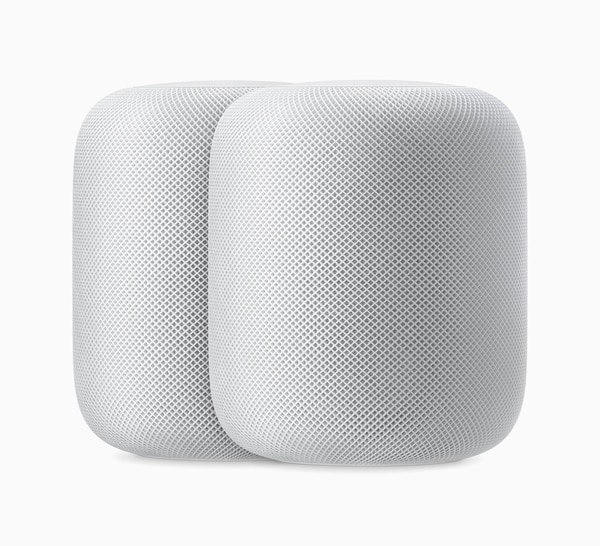 El HomePod es el dispositivo tipo 'smart speaker' que ofrece Apple. (Foto cortesía de Apple)