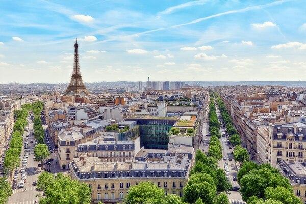 Panorámica de París, Francia.
