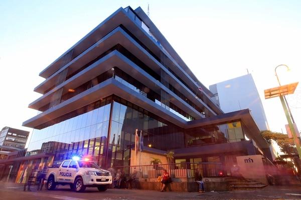 15/12/2017 San José. Fachada del edificio del Ministerio de Hacienda. Foto: Rafael Pacheco