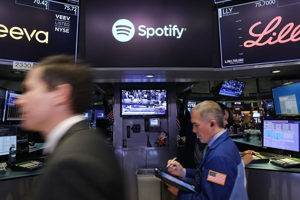 La empresa de streaming de música tiene 71 millones de suscriptores en el mundo y busca subir a 96 millones de clientes. 2018 Getty Images / AFP