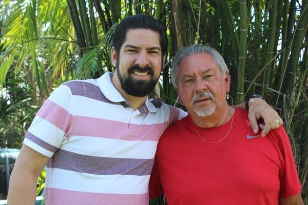 El ingeniero industrial Sergio Salazar y su padre, el ingeniero agrónomo Carlos Salazar, encabezan Plantarte. (Foto: Plantarte para EF).