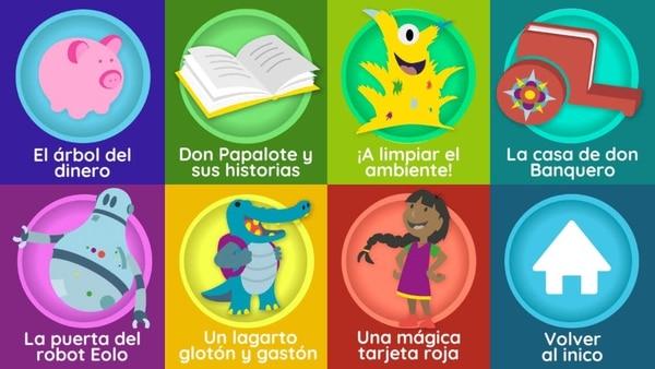 En la aplicación móvil se pueden leer siete cuentos y realizar otras dinámicas, como grabar los propios cuentos que se ideen.