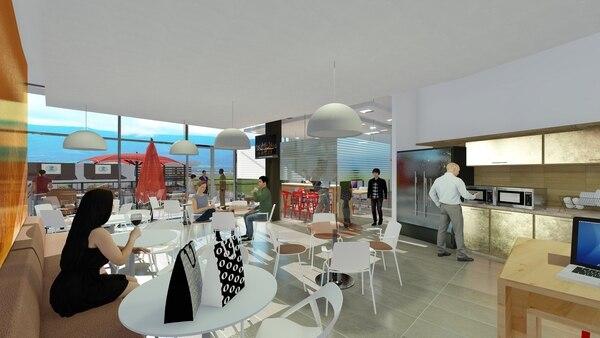 En este nuevo lifestyle center habrá 12 restaurantes. (Imagen: Santa Ana Town Center para EF).