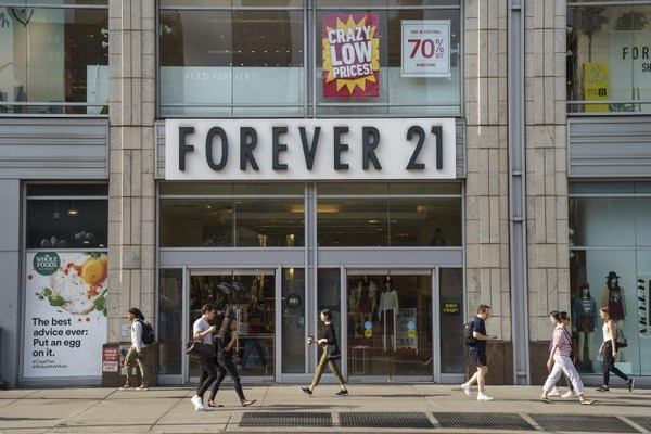 Con el proceso de quiebra se espera que la cadena cierre al menos 350 puntos de venta alrededor del mundo, incluidos 178 en Estados Unidos, su principal mercado. Foto: AFP