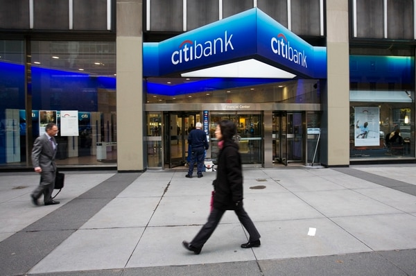 Citigroup es una de las entidades investigadas en Estados Unidos, según el Wall Street Journal.