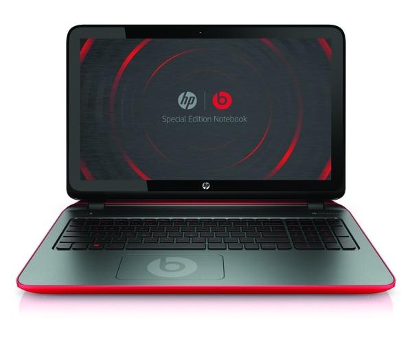 La laptop Beats Special Edition tiene pantalla táctil.
