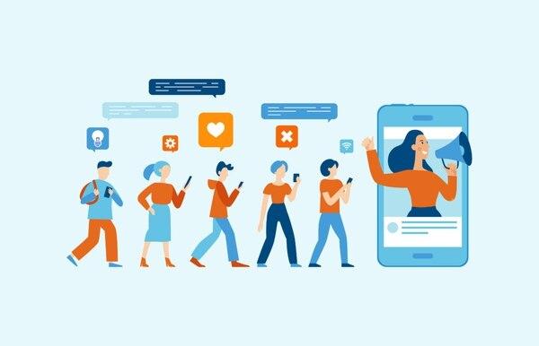 Al contratar 'influencers' las marcas esperan lograr un impacto positivo que por sí solas no alcanzarán en el corto plazo. (Imagen archivo GN)