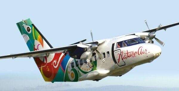 Avioneta de Nature Air se estrella en Guanacaste con 10 pasajeros