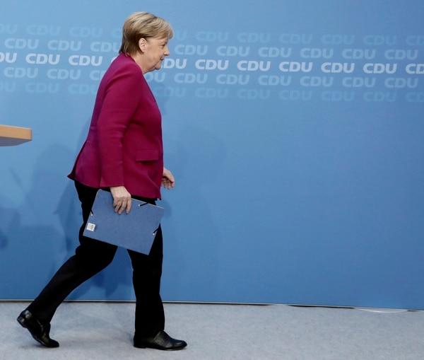 Angela Merkel culmina este año un periodo de 16 años al frente de la Cancillería de Alemania. (Fotografía: AP)