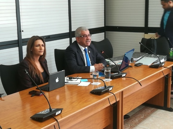 Ronald Artavia, auditor externo de Yanber, compareció ante los diputados de la Comisión Investigadora de los Créditos Bancarios, el lunes 22 de enero.