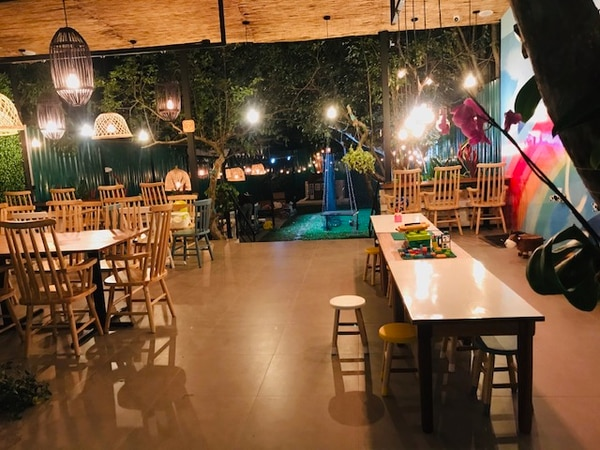 El nuevo local de la cafetería es de 240 metros cuadrados. (Foto cortesía Coffee & Kids)