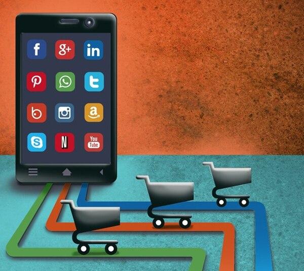 Un 68% de las empresas comercializan sus productos por medio de redes sociales. (Imagen archivo GN)