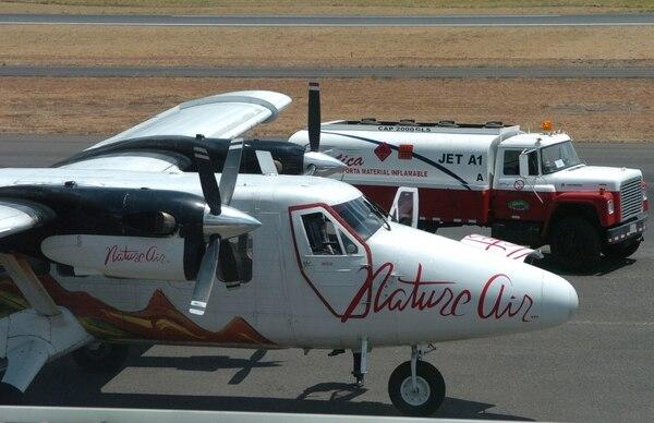 La empresa Nature Air se encuentra nominada en la categoría de línea aérea