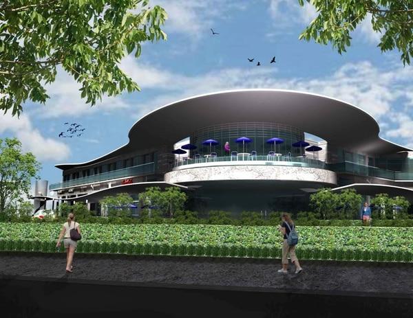Vivo Plaza está finalizando su construcción para abrir en mes y medio en Los Yoses. Contará con 22 locales comerciales.