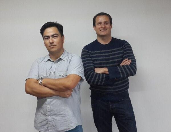 Isidoro Díaz, de 35 años, y Daniel Monge, de 31 años, son cofundadores de ImpacTico.
