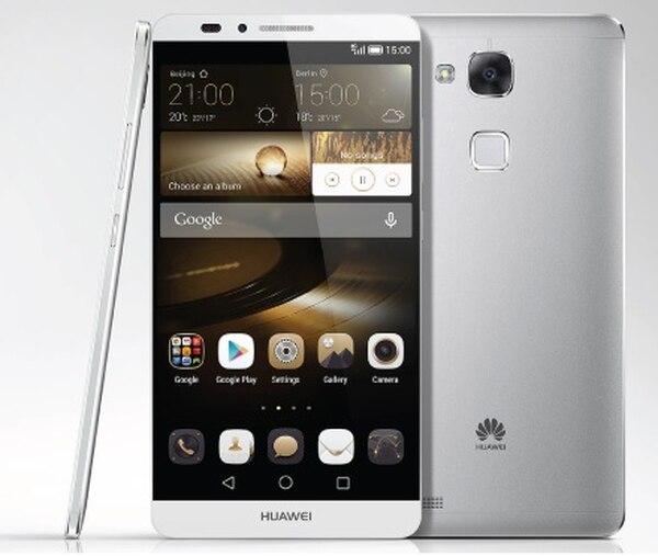 El nuevo smartphone Ascend Mate 7 de Huawei tiene una pantalla de 6 pulgadas y su batería dura más de un día, según su fabricante.