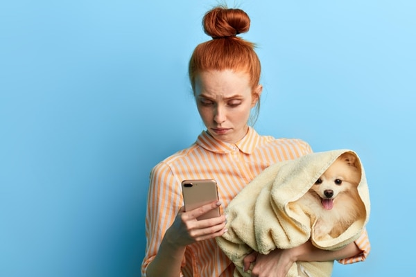 Plataformas en línea facilitan membresías mensuales para agendar citas con veterinarios con porcentajes de ahorro. Foto: Shutterstock.