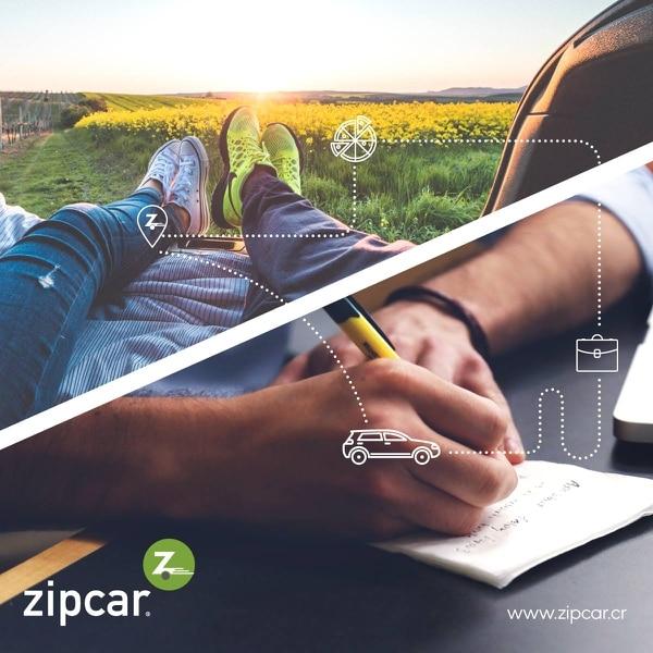Zipcar es una aplicación que cuenta con más de 300 usuarios en Costa Rica.