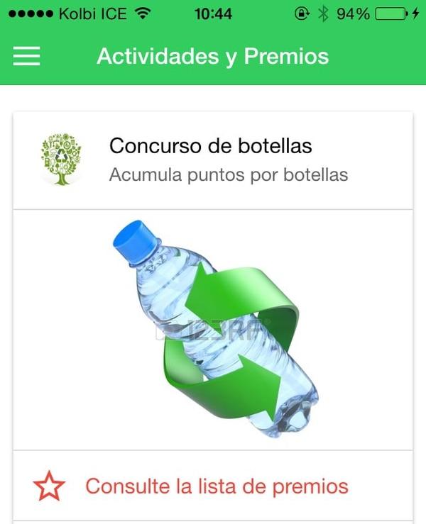 ReciclApp tiene como objetivo incentivar a al reciclaje y de la importancia que tiene éste en la actualidad.