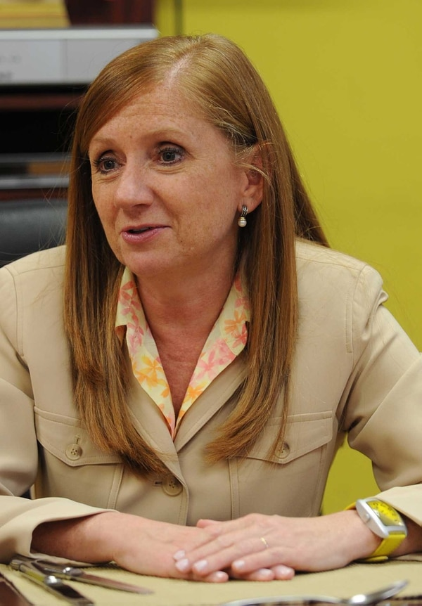 Anabel González, ministra de Comercio Exterior. Foto: Archivo