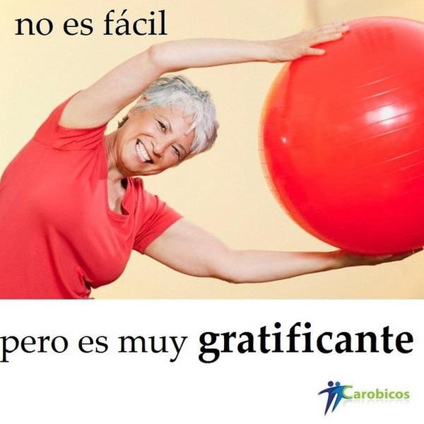 adultos mayores, fitball, ejercicio
