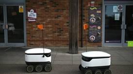 Robots repartidores se multiplican en el Reino Unido con la pandemia