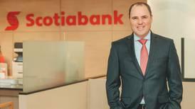"""Gerente de Scotiabank sobre crecimiento del crédito: """"Estimamos que pueda ser alrededor de un 4%"""""""