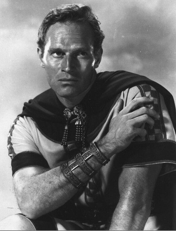 La película épico y ambientada en la Antigua Roma Ben-Hur llegó a los cines a finales de los cincuentas